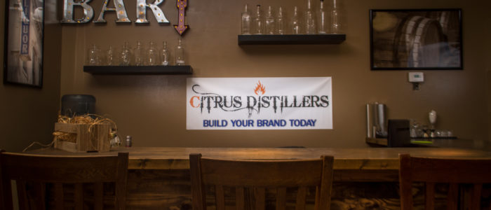 citrus distillers tasting room